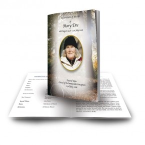 Autumn Lane Funeral Book