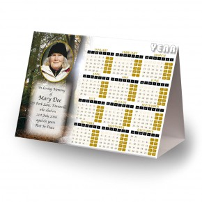 Autumn Lane Calendar Tent