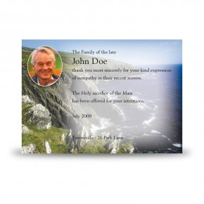 Coastline Co Antrim Acknowledgement Card