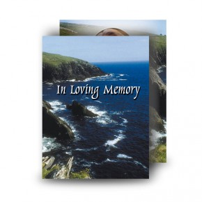 Coastline Co Antrim Standard Memorial Card