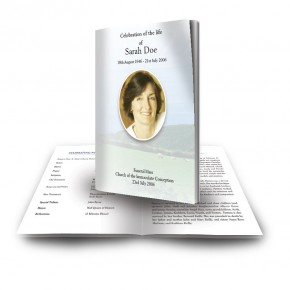Country Field of Kerry Funeral Book