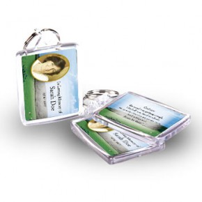 Country Field of Kerry Keyring