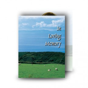 Country Field of Kerry Standard Memorial Card
