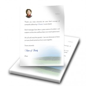 Country Field of Kerry Thank You Letter
