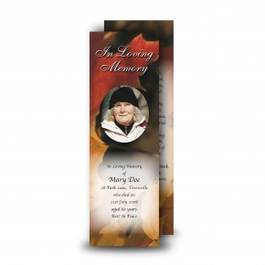 Autumn Leaves Bookmarker