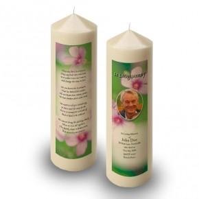 Pink Primroses Candle