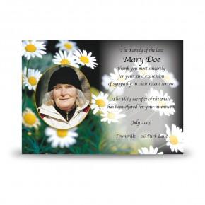 Daisies Acknowledgement Card