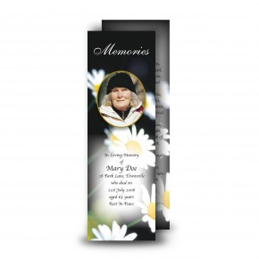 Daisies Bookmarker