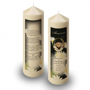 Daisies Candle