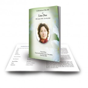 Wild Roses Funeral Book