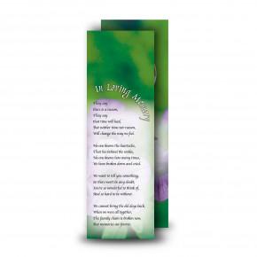 Purple Petunia Bookmarker
