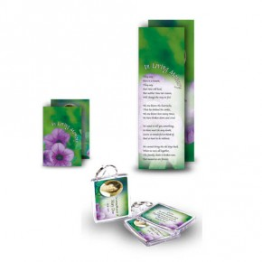 Purple Petunia Pocket Package