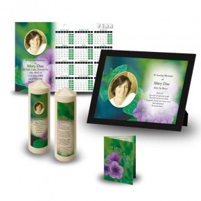 Purple Petunia Wall Package