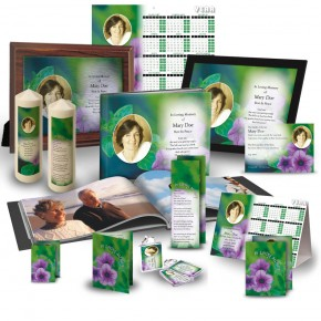 Purple Petunia Custom Package
