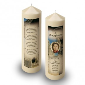 An Old English Monastery Candle