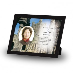 An Old English Monastery Framed Memory