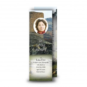 Castle Ruins Scotland Bookmarker