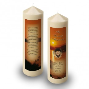 Lough Lomand Scotland Candle