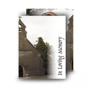 St Marys Standard Memorial Card