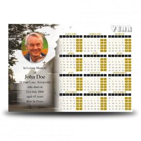 St Marys Calendar Single Page