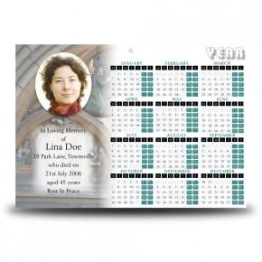 St Michaels Church Enniskillen Triangle Calendar Single Page
