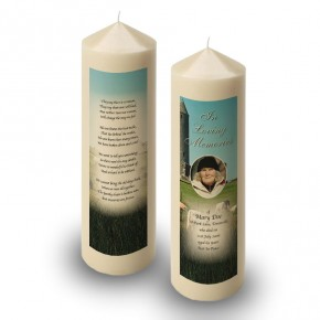 Devenish Island Co Fermanagh Candle
