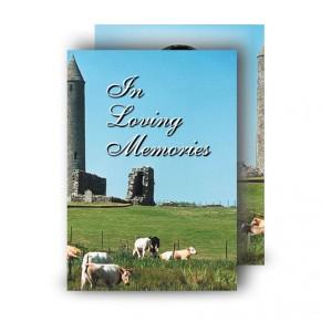 Devenish Island Co Fermanagh Standard Memorial Card