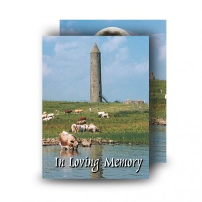 Devenish Island (Inside) Co Fermanagh Standard Memorial Card
