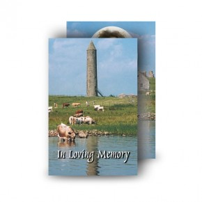 Devenish Island (Inside) Co Fermanagh Wallet Card
