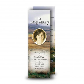 Mountain Field & Sheep Co Wicklow Bookmarker