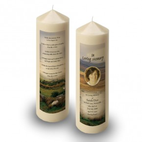 Mountain Field & Sheep Co Wicklow Candle