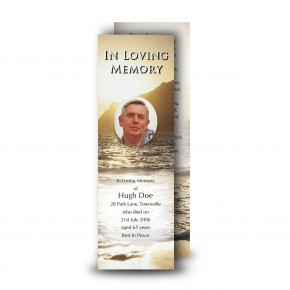 Golden Sea Shore Co Derry Bookmarker