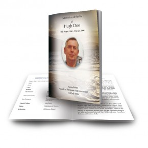 Golden Sea Shore Co Derry Funeral Book