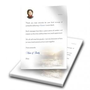 Golden Sea Shore Co Derry Thank You Letter