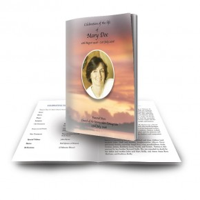 Lake Sunset Co Westmeath Funeral Book