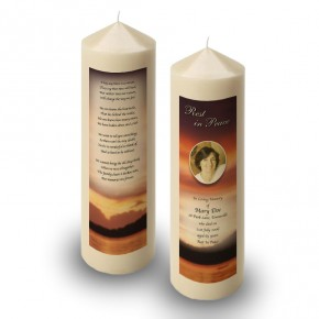 Lake Sunset Co Westmeath Candle