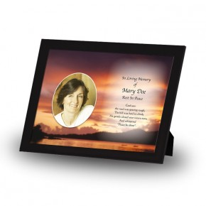 Lake Sunset Co Westmeath Framed Memory