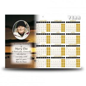 Rossespoint Co Sligo Calendar Single Page