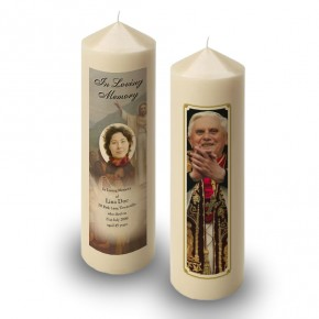 Pope Benedict Candle