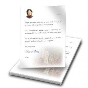 Pope Benedict Thank You Letter