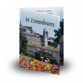 Enniskillen Castle Co Fermanagh Folded Memorial Card