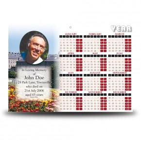 Enniskillen Castle Co Fermanagh Calendar Single Page