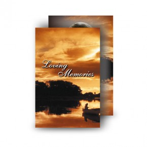 Upper Lough Erne Sunset Co Fermanagh Wallet Card