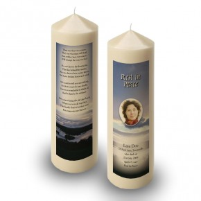 Lower Lough Erne Co Fermanagh Candle