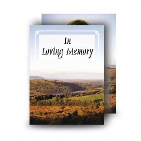 West Midlands England Standard Memorial Card
