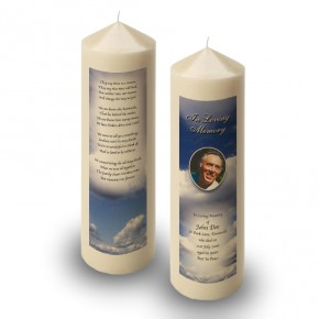Sky Clouds Candle