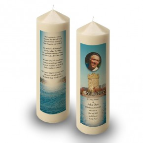 Gad Island Co Fermanagh Candle