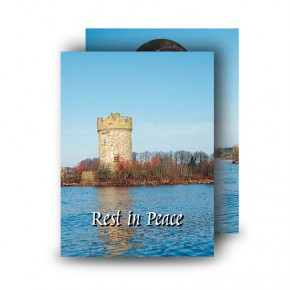 Gad Island Co Fermanagh Standard Memorial Card