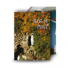 Graan Grotto Co Fermanagh Standard Memorial Card