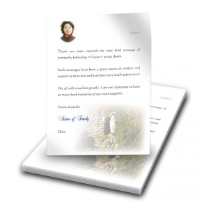 Graan Grotto Co Fermanagh Thank You Letter